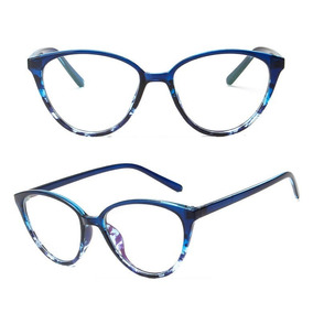 1bf3f97c35265 Óculos Armação Grau Acetato Olho Gatinho + Case Caixinha A30