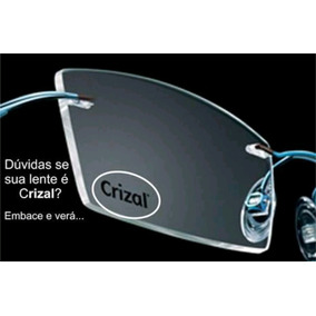 bcbb911d04b44 Lente Para Oculos Crizal - Óculos no Mercado Livre Brasil