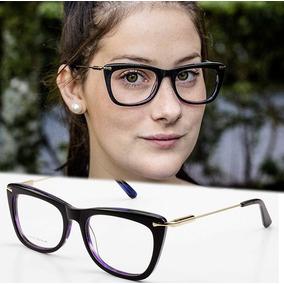 dc0bcd63ef4e7 Oculos De Grau Rosto Redondo Feminino - Óculos no Mercado Livre Brasil