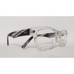 bc4b23651c825 Óculos Armação Acetato Unissex Tamanho 51 Incolor Ref.ganz