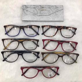 88bed9b071581 Óculos De Grau Quadrado Chanel - Óculos Marrom no Mercado Livre Brasil