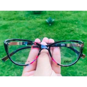 bd2c24f1f4f33 Óculos Redondo Janis De Grau Dior - Óculos no Mercado Livre Brasil