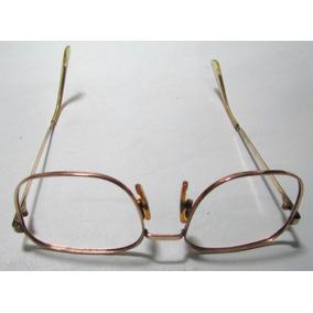 4fd6739cab641 Armação P  Óculos Em Ouro10k-416 Maciço Feito A Mão