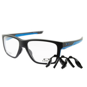 956d8b8671fc2 Armação Óculos De Grau Oakley Oph Mainlink Steel Ox8128 04