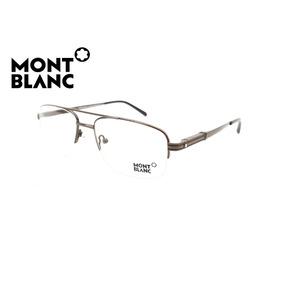 a0ad6c7e489b5 Oculos De Grau Redondo Masculino Pequeno Mont Blanc - Óculos no Mercado  Livre Brasil