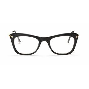8fd5d5c3c6213 Oculos Sem Grau Quadrado Rosa - Óculos Preto no Mercado Livre Brasil