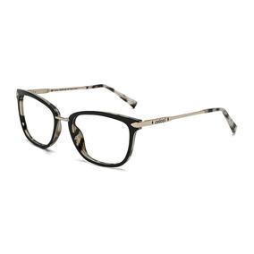 5e70fd007 Armacao Oculos Grau Colcci Anna C6095agl54 Preto Parede Demi