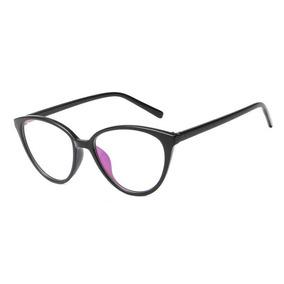 bca7b9f3c8449 Armação Óculos Grau Acetato Olho Gatinho + Case Caixinha A30