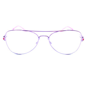 b4589196767cd Oculos Sem Grau Para Crianca Feminino Aviador Rosa - Óculos no ...