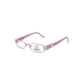 16d77fc13 Óculos De Grau Hello Kitty Menina Infantil Em Metal Lilás