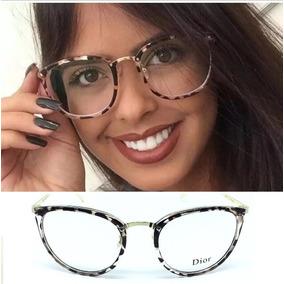 b3e6b3d98edfd Oculo Gatinho Transparente Vintage - Óculos no Mercado Livre Brasil