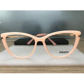 f3a0283bedcef Oculos Grau Prada Gatinho - Óculos no Mercado Livre Brasil