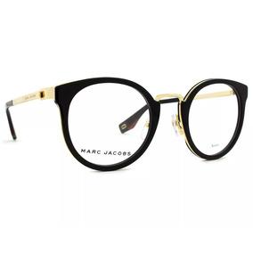 0b053a8a2a791 Oticas Carol Oculos De Grau Marc Jacobs - Óculos no Mercado Livre Brasil