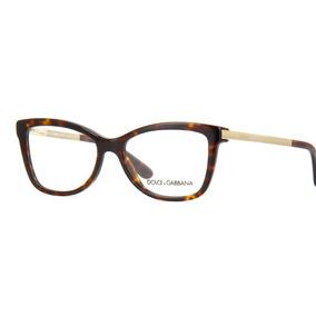 7c1e37e6d3010 Óculos De Grau Dolce Gabbana Dg3218 2887 no Mercado Livre Brasil