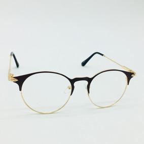 56ec0ba7e7160 Oculos Redondo Sem Grau Barato - Óculos no Mercado Livre Brasil