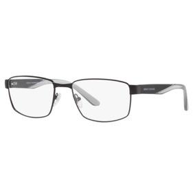 4bc46edb44a21 Armação Oculos Grau Armani Exchange Ax1036 6063 55 Preto Fos