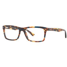a25545d4fd7a9 Bege 5131 Ray Ban Rb5287 52 Azul - Óculos no Mercado Livre Brasil