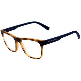 d190cbe2e Armani Exchange Ax 3050 L - Óculos De Grau 8246 Marrom Mescl