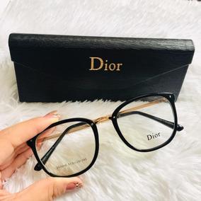 44fd2ca0a9a0b Oculos Grau Feminino Retro Transparente - Óculos Preto no Mercado ...