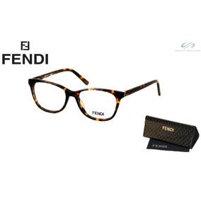 1538ba07579cc Oculos De Grau Feminino Acetato Marrom Fendi - Óculos no Mercado ...