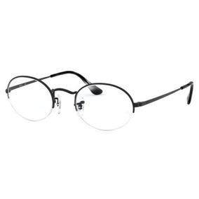 3501cbd92f3bc Armação Oculos Grau Ray Ban Rb6547 2503 52 Preto Fosco