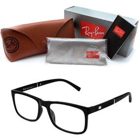 346adec893b49 Armação Grau Óculos Rayban Quadrado Masculino Feminino 5001