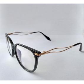 b2f6be5a0be7c Armação De Óculos Grau Mulher Casual Case Caixa Promoção A21
