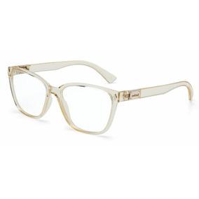 5d3013b9b7437 Armação Oculos Grau Colcci Amy C6077b4654 Bege Translucido