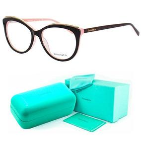 250735c07ddf8 Armação De Grau - Tiffany   Co. Gatinho - Tf2147 Oculos Kit