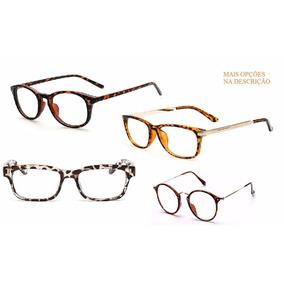 d0c4ae33d0eb3 Oculos De Oncinha Quadrado - Óculos no Mercado Livre Brasil