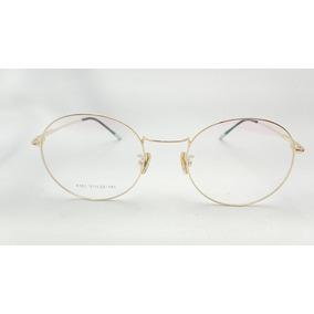 2b23b3901b301 Oculos Redondo Kawaii - Óculos Dourado no Mercado Livre Brasil