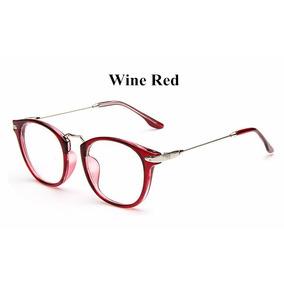 18926db29f04e Oculos Redondo Vermelho Vintage Estilo - Óculos no Mercado Livre Brasil
