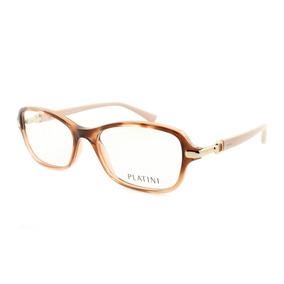 d920fde3a Armação Óculos Para Grau Feminino Platini P9 3134 E987 51