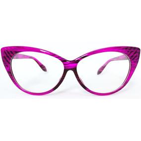 11fb5b58e9544 Oculos De Grau Feminino Gatinho Retro - Óculos no Mercado Livre Brasil