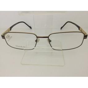 0d85d8d4b0214 Oculos Stepper Titanium Dourado Outras Marcas - Óculos em São Paulo ...