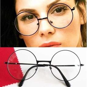 0f064097a6451 Oculos Redondo Retro Geek - Óculos no Mercado Livre Brasil