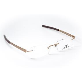 b8d0cca75377a Armação Oculos Masculino Balgrif Parafusada Sem Aro Carraro