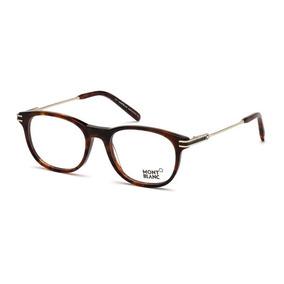 801ecf4f28193 Óculos Mont Blanc Eyeglasses Mb385 Mb 385 008 Gunm De Sol - Óculos ...