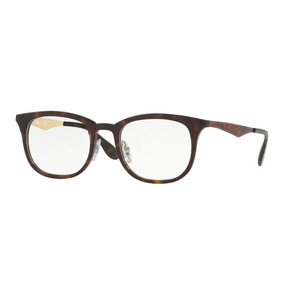2ff17843f0acb Oculos Rayban Clubmaster De Grau Dourado - Óculos no Mercado Livre ...