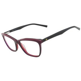 f32ad4dc26e40 Armação Óculos De Grau Hickmann Feminino Hi6013 C02