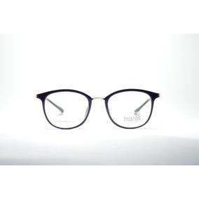 1750d47f686a2 Armação Óculos P  Grau Feminino Redondo Metal Juvenil Moda