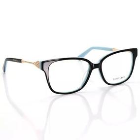 6fdcbadebd6de Oculos Grau Feminino Acetato Tf1436 - Óculos no Mercado Livre Brasil