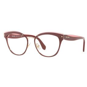 6c2ba42cacae2 Óculos De Grau Miu Miu Réplica De Primeira - Óculos no Mercado Livre ...