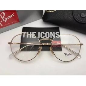 b60ed1f811baf Oculos De Grau Rayban Redondo Ray Ban - Óculos no Mercado Livre Brasil