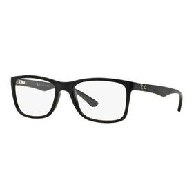 b9ccd88992de7 Armação Oculos Grau Ray Ban Rb7027l 2000 56mm Preto Brilho