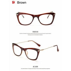 07a5a1f3da98d Kit 4 Armação Óculos De Grau Acetato Quadrado Feminino Cd