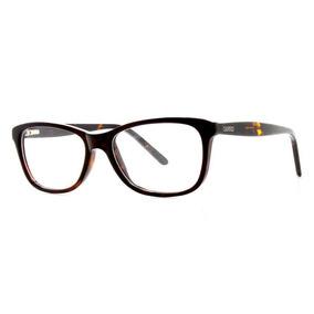 fe14d9c0a08b1 Óculos De Grau Feminino Cannes 406 T 52 C 2005 Marrom