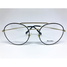 ac9f744ddd52f Oculos Miu Miu Renoir Preto Fosco De Grau Outras Marcas - Óculos no ...
