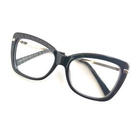 7f59a23ca8ca9 Armacao Oculos Grau Feminino Importado Super Resistente