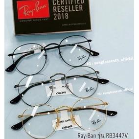 311ba3f1a60ef Ray Ban Rb 3447 Grau - Óculos Preto no Mercado Livre Brasil
